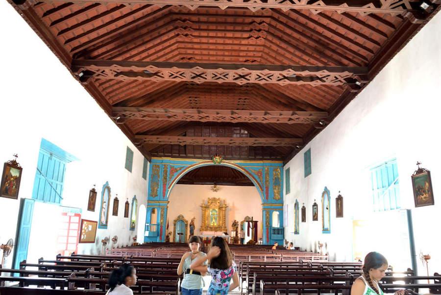 Interior de la Iglesia Parroquial Mayor del Espíritu Santo