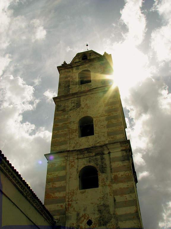 Campanario de la Iglesia Parroquial Mayor del Espíritu Santo