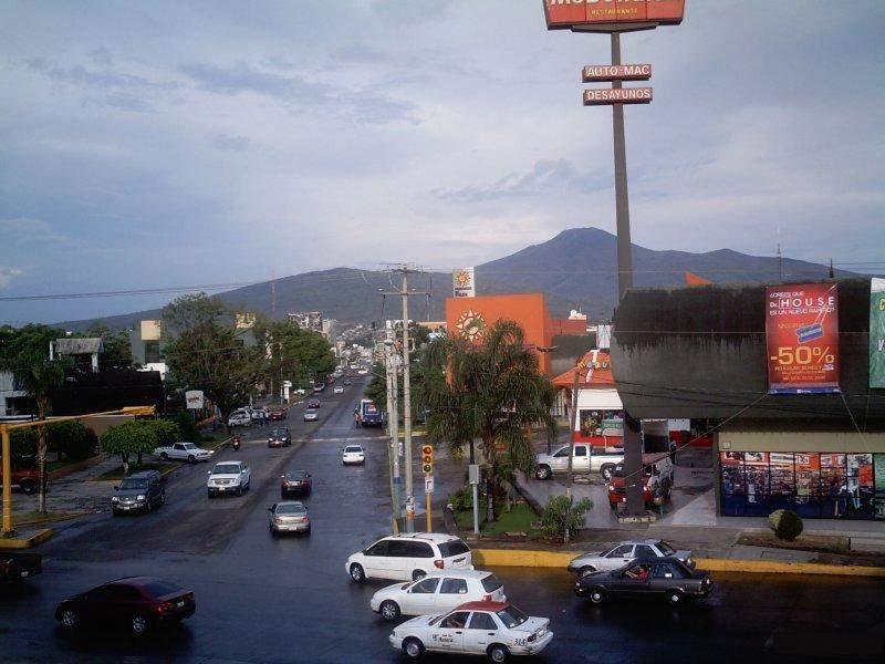 Vista del centro en Zamora de Hidalgo
