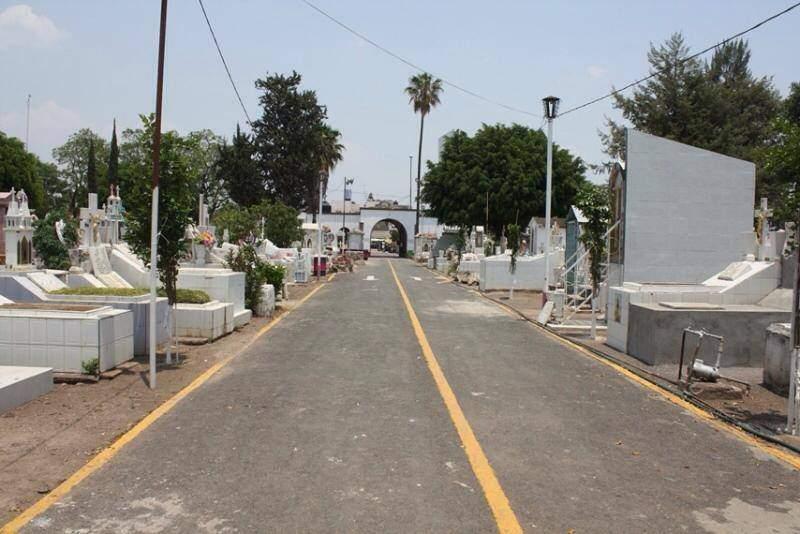 Cementerio en Zamora de Hidalgo