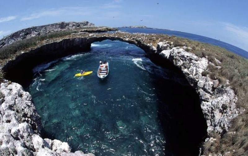 En las Islas Marietas en Nuevo Vallarta, se puede practicar snorkel