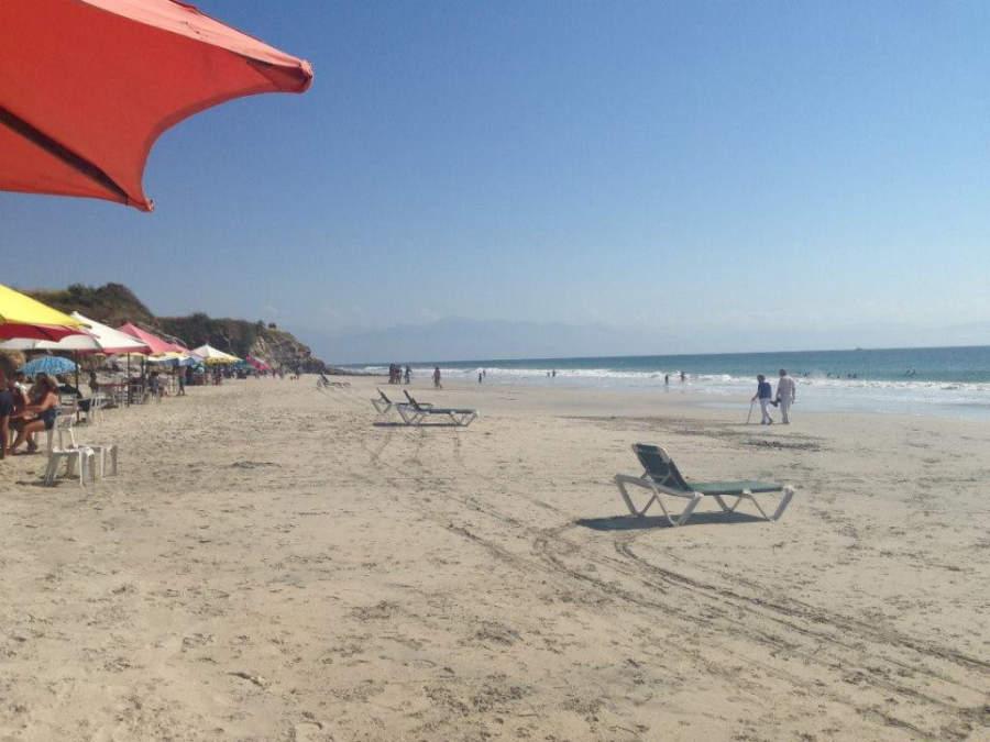 La playa Nahui es una de las más populares de Nuevo Vallarta