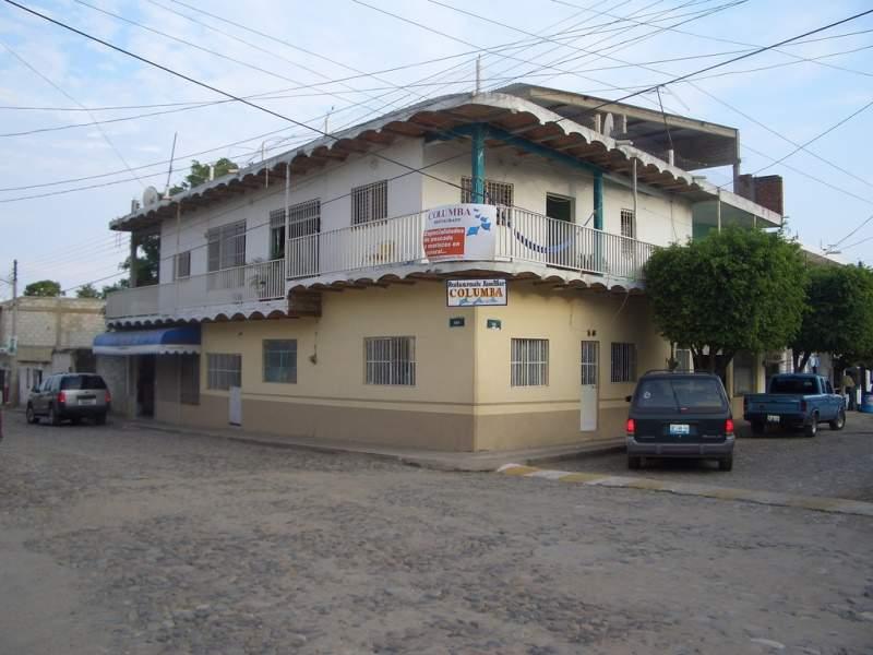 Calles de Cruz de Huanacaxtle