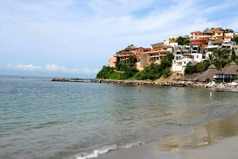 Las playas en Cruz de Huanacaxtle son de oleaje apacible