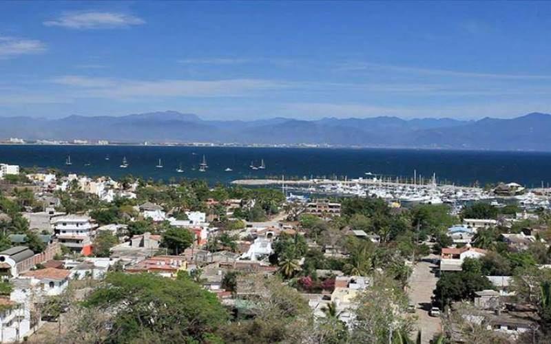 Vista panorámica de Cruz de Huanacaxtle