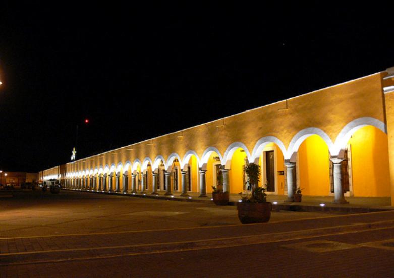 Los Portales de Cholula están entre los arcos más largos de Hispanoamérica
