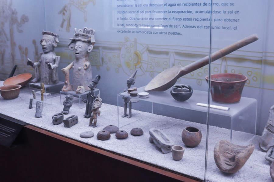 En el Museo del Valle de Tehuacán se exhiben piezas prehispánicas encontradas en la zona