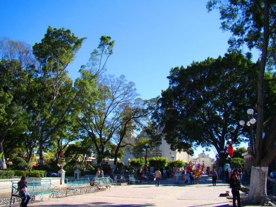 Zócalo de Tehuacán, punto de reunión social y cultural