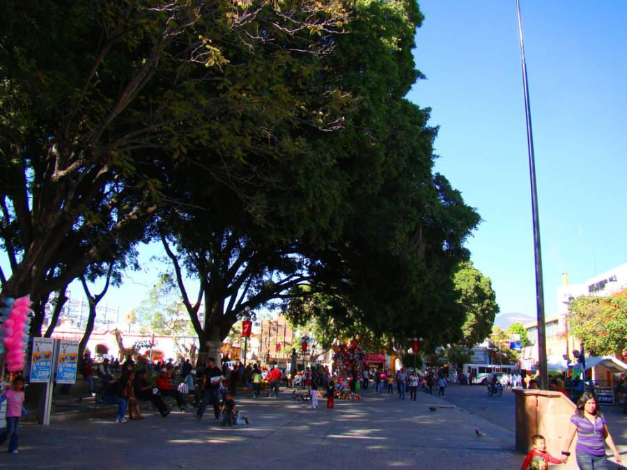 Centro histórico de Tehuacán en el estado de Puebla