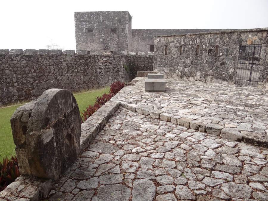 El Fuerte de San Felipe fue construido para detener los ataques de piratas a Bacalar