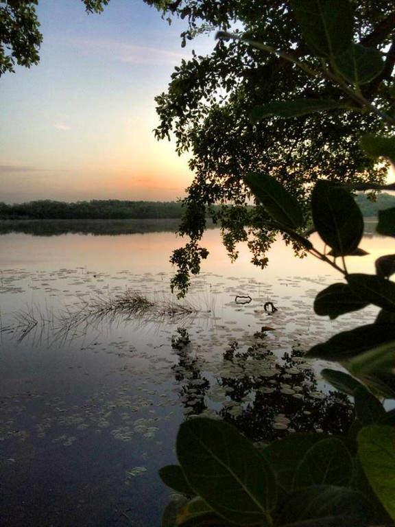 Atardercer en una de las lagunas cercanas a Subteniente López