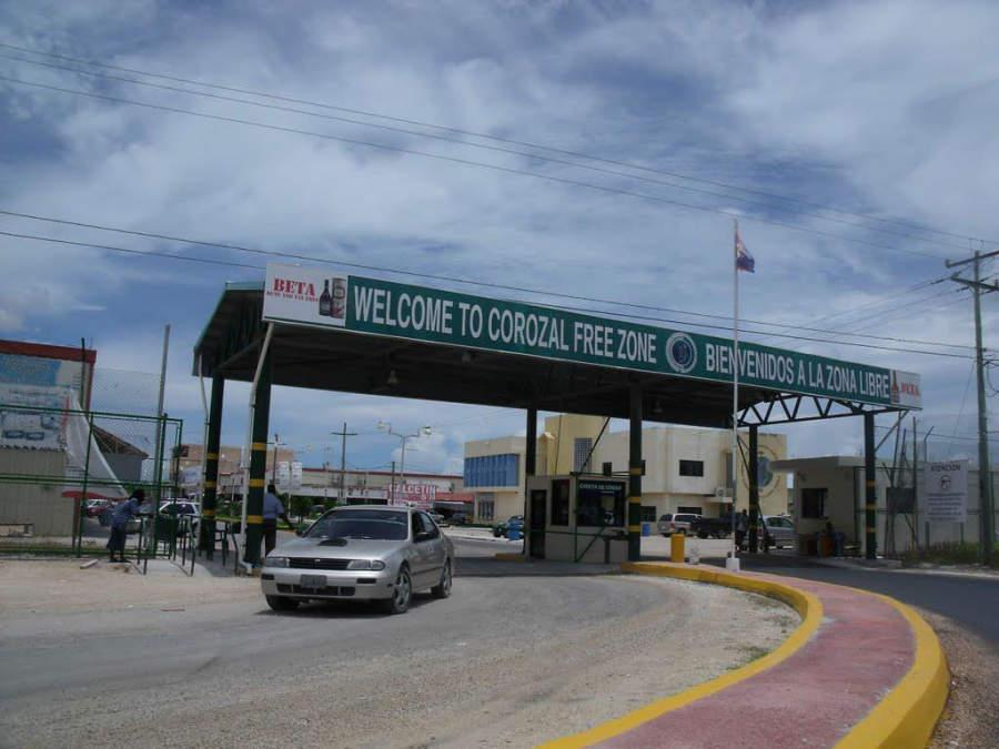 El poblado de Subteniente López es el principal punto fronterizo entre México y Belice