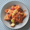 Grated carrot, apple and raisin salad,Brisbane, Australia