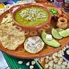 Pozole guerrerense,Taxco, Mexico