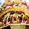 Tacos de camarón,Puerto Vallarta, Mexico